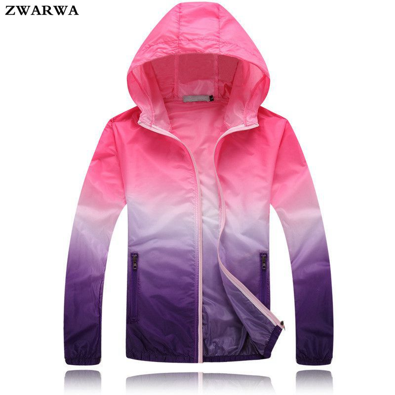 2017 New Fashion Summer Women Zipper Hoodies Slim Jacket Spring Thin Windbreaker Basic Jackets Plus Size Outwear Fast Sun Coat(China (Mainland))