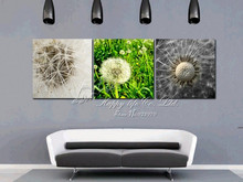 3Panels abstract  grass plant  Living Room Decorative Canvas Painting  Modern Picture Paint Print Art Wall