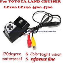 wireless wire Car Rear View camera reverse backup parking assistance for Toyota Land Cruiser LC100 LC120  4500 4700