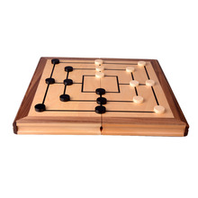 Export Germany Standard Competition Educational Chess Toys 2 in 1 Go By Chess and Backgammon Games(China)