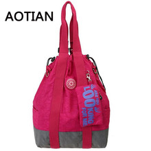 2017 Newest Brand Design Women's Casual Tote Backpack Water Resistant Nylon Crossbody Bags Multi-us Bolsas Mochilas Femininas