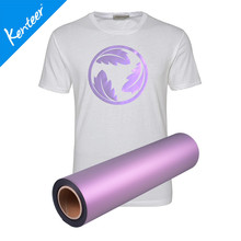 Q1-3 Kenteer High Quality Pearl Heat Transfer Vinyl For T-Shirts 0.5*25m/Roll