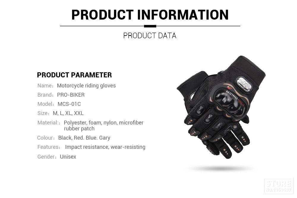 Gloves Pro-Biker Collection (22) 19