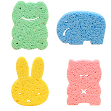 Buy Cartoon Baby Bath Sponge Brushes Towel Baby Infant Shower Sponge Wash Child Brush Sponges Bath Accessories for $0.88 in AliExpress store
