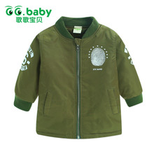 Hot Hooded Winter Warm Coat Jacket Zipped kids Boys Jackets Boy Outerwear Coats Child Smile Face Pattern Toddler Cappotto Bimba(China)