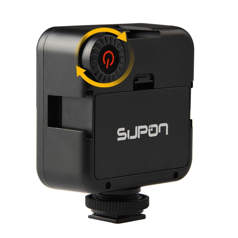 camera comcorder led video light