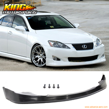 For 06-08 Lexus IS250 IS350 VIP Front Bumper Lip Spoiler USA domestic Free shipping