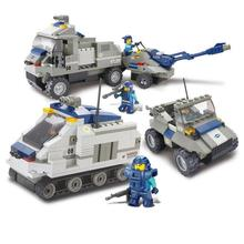 BOHS Special Forces - Armored Artillery Regiment Children Educational Toys Building Blocks 467pcs(China)