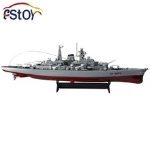 "Rc Military Model Series Battleship 1/360 RC 28"" Warship Cruiser Simulation Battleship Bismarck  High-speed Remote Control Toy"