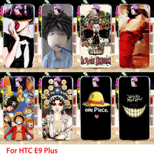 Soft Phone Cases For HTC One E9 E9+ E9 PLUS 5.5 inch Cool Art Prints  Hard Cell Back Covers Housings Sheaths Skins Shields Hood