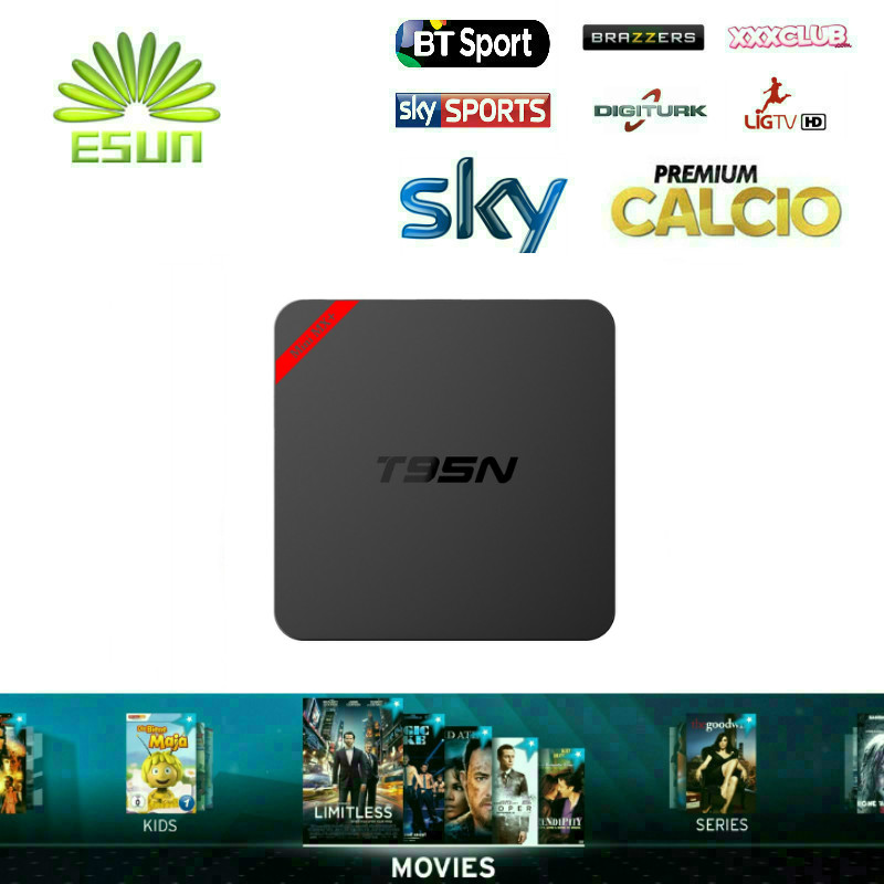T95N Mini MX plus S905 With Super IPTV 1300 live channel+7000 VOD Movies Europe iptv Italy Turkish  IPTV 2.4G wifi media player<br><br>Aliexpress