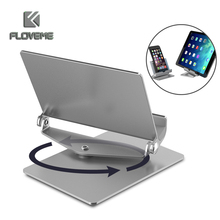 FLOVEME Universal 360 Rotatable Phone Stand Holder for iPhone 6 7 Samsung S8 S7 Huawei P10 Xiaomi Desktop Table Holder Bracket(China)