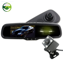 HD 5 Inch IPS Lcd Screen 1080P Car Bracket Mirror DVR Monitor Camera Digital Video Recorder With Auto Dimming Anti-Glare Mirror
