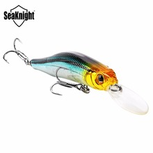 SeaKnight SK022 Suspending Minnow 1PC Retail Fishing Lure 80mm 9g 0~1.5M Artifical Hard Baits Wobblers BKK Hooks Lifelike Body