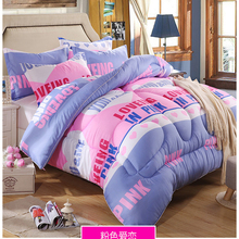 100%cotton  bedding set 3d bed linen with duvet cover/bed sheet/pillowcases king/twin/queen size
