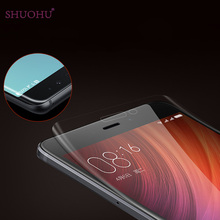 SHUOHU 3D Full Cover Soft TPU Film For Xiaomi Redmi Note 4 and Note4 Global Version Screen Protector (Not Tempered Glass)