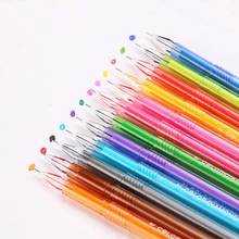 12pcs/lot Colored Gel Pen Girls Painting Pen Cartoon Fresh Candy Colors Stationery Pens Writing Supplies