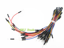 new 65pcs/LOT Lot New Solderless Flexible Breadboard Jumper Cables
