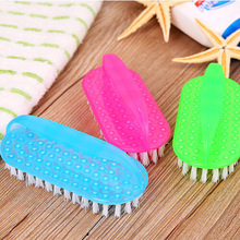 department of With thick plastic household cleaning products elliptical multi-function washing brush brush cleaning brush shoes(China)