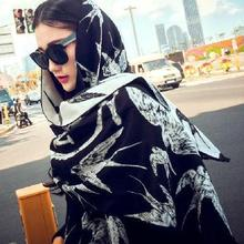 new fashion swallows warm cashmere shawl scarf wool knit	 Soft and comfortable personality long scarves