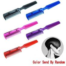 DIY Hair Razor Comb Hairdressing Thinning Trimmer Punk Home Professional Trim Dropship Y907(China)