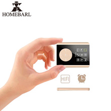 "HOMEBARL New Alarm Clock HIFI 1.8"" 3th LCD MP4 Player 2GB 4GB 8GB With Micro SD Card/TF Card Slot Speaker Music Video Players"