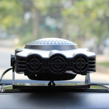 12V 150W Car Demister Heater Portable Vehicle Car Heating Cooling Fan with Adjustable Rotation Bracket Ventilador de ar quente(China)