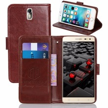 GUCOON Vintage Wallet Case for VKworld G1 Giant 5.5inch PU Leather Retro Flip Cover Magnetic Fashion Cases Kickstand Strap(China)