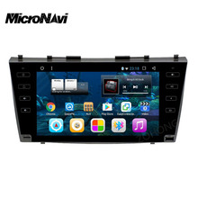 "MicroNavi 9"" Android 6.0 CAR radio DVD Player FOR Toyota Camry 2007 2008 2009 2010 2011 With Navigation gps wifi BT HD1024*600(China)"