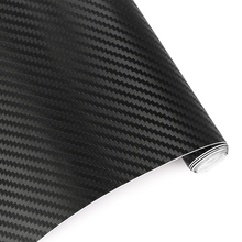127cmx10cm Waterproof Car Stickers 3D Car Carbon Fiber Vinyl Film Sheet Wrap Roll Auto Car DIY Decor Sticker Paper Car Styling