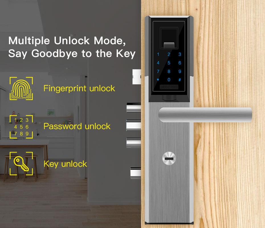Fingerprint Door Lock (8)