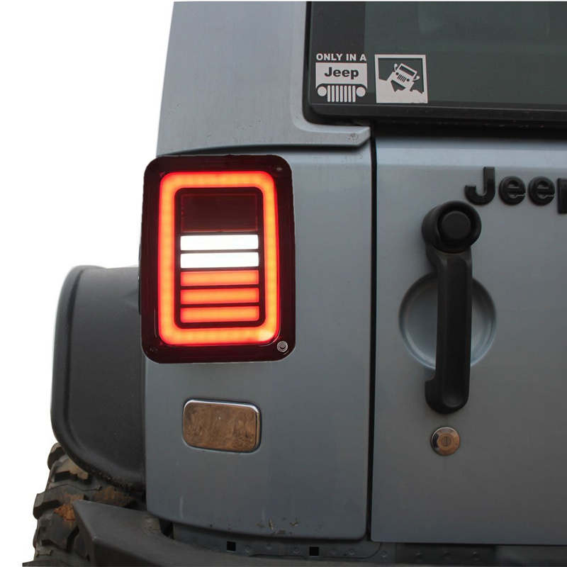 EU Version turn signal LED rear tail light For Jeep wrangler Parts TailLight WITH DRG