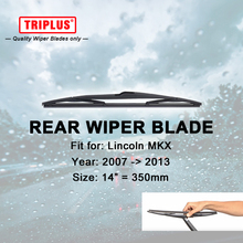 "Rear Wiper Blade for Lincoln MKX (2007-2013) 1pc 14"" 350mm,Car Rear Windscreen Wipers,for Back Windshield Wiper Blades"