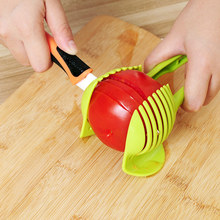 Lemon Tomato Potato Vegetable Fruit Slicer Egg Food Clip Clever Onion Cutter Salad Kitchen Accessories Cooking Gadget