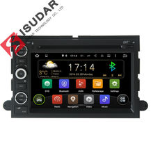 Two Din 7 Inch Android Car DVD Player For FORD/F-150/Mustang/Explorer/Kuga/Edge With Canbus Wifi GPS Navigation Radio FM Map