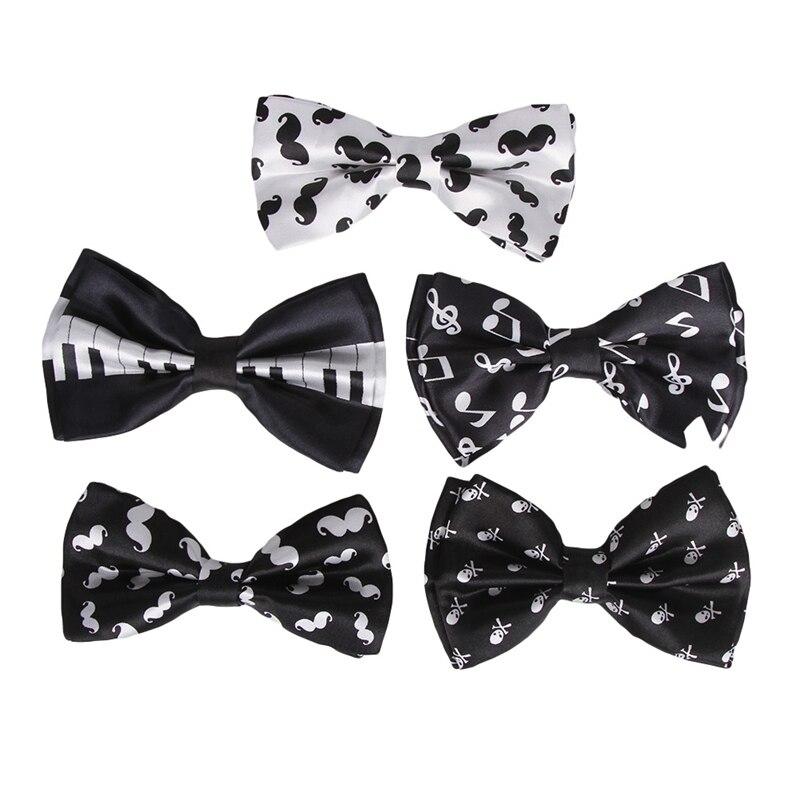 Mens Unisex Wedding Party Tuxedo Black and White Checkered Diamond Dress Bow Tie Bowtie Brand New in Factory Box!