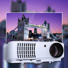 Projector RD804 New 5.8 inch 1080P LCD PC Film TV DVBT Beamer For Home Cinema HDMI HDTV USB Video LED HD Projector
