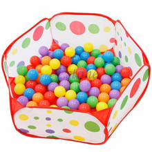 2017 New Arrival 120cm Baby Toy Funny Basketball Childrens Kids Tent Ball Pit Playhouse Pop Up Garden Pool Child Gift(China)