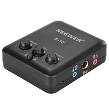 Neewer Black/White External USB Microphone Sound Card with Free Drive Design for Singing/Recodring/Music Listening