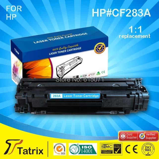 Compatible toner cartridges 283A  CF283A for HP LaserJet Pro LaserJet Pro M125/M125a/M125fw/M126/M126a/M12 printer<br><br>Aliexpress
