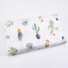 Twill Plant Cactus Series Cotton Fabric DIY handwork Patchwork Sewing Kids Bedding Bags Cloth Textiles Fabric 50*40cm(China)