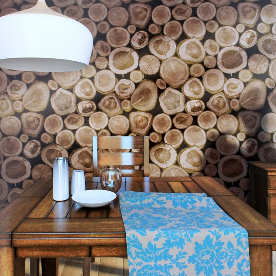 beibehang Wood Blocks Effect Brown Stone Brick Vinyl mural Wallpaper for Living Room Background Wall Decor Art Wall Paper roll<br>