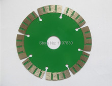 Free shipping of home decoration 114*1.8*20*10mm segmented saw blades for dry cutting concrete/marble/granite/general purpose f(China)