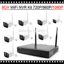 New Wireless Camera System 1080P NVR 8CH 8x 2MP Wifi cam IP Kamepa  CCTV Security System 8 Channel Surveillance Kit