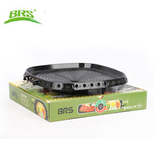 BRS-25 Gas stove camping stove Camp cocinilla titanium stove hiking barbecue grill for outdoor cooking portable pot non-stick