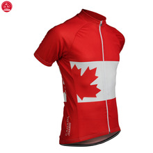 NEW 2017 Canadian CANADA Jersey Bike Team Bicycle Cycling Jersey / Wear Clothing Breathable Customized Ropa CICLISMO JIASHUO(China)