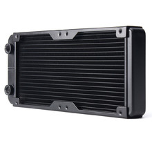 240MM Aluminum Computer Radiator Water Cooling Radiator Water Cooler 18 Tubes Heat Exchanger CPU Heat Sink For Laptop Desktop(China)