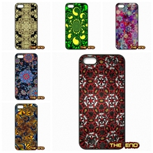 Kaleidoscope Hypnotic Geometric Compositions Phone Case For iPhone 4 4S 5 5C SE 6 6S 7 Plus Galaxy J5 A5 A3 S5 S7 S6 Edge