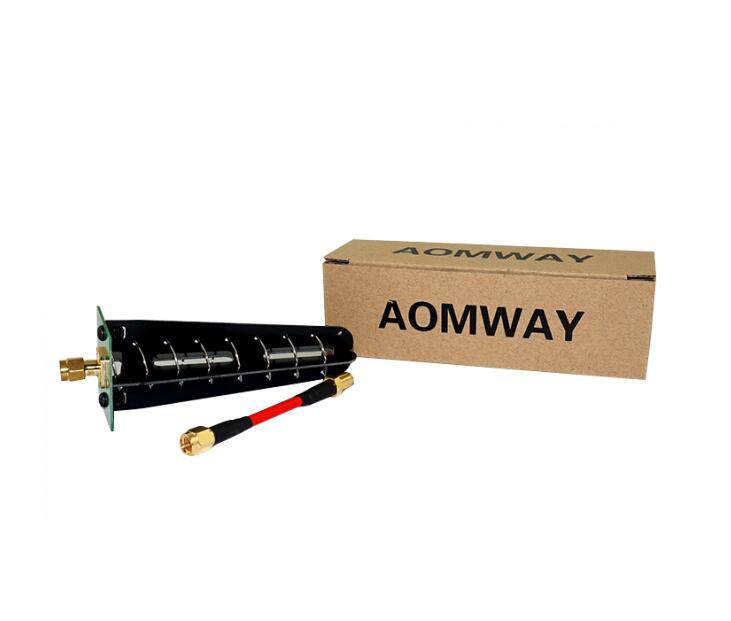 Free Shipping AOMWAY 5.8GHz FPV antenna Helix receiving antenna Right polarized helical FPV AV receiver antenna SMA RP-SMA<br><br>Aliexpress