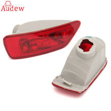 2Pcs Rear Tail Fog Light Lamp Cover Light Lens For Jeep/Compass/Grand/Cherokee 2011-2016(China)